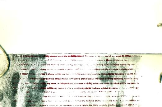 psalm 22 text and fingerprints