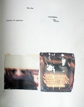 psalm 23 typewriter